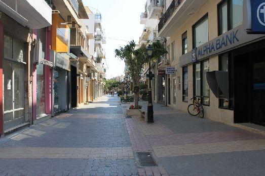 Улица Иерапетры, самого южного города Крита