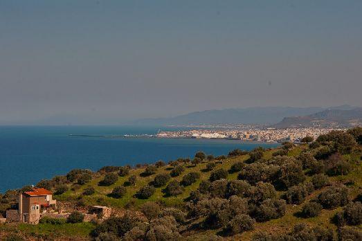 Западное побережье Крита, Ионическое море