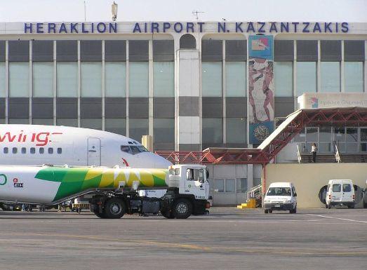 Аэропорт Ираклион занимает второе место в Греции по своей загруженности