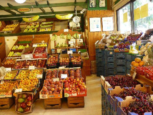 Большинство фруктов и овощей на Крите местного происхождения