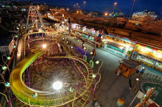 В Ираклионе недалеко от порта находится луна-парк 'Катерина'