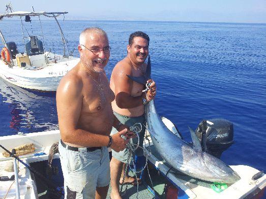 Рыбу на Крите можно поймать самостоятельно, правда, это тоже не бесплатно..