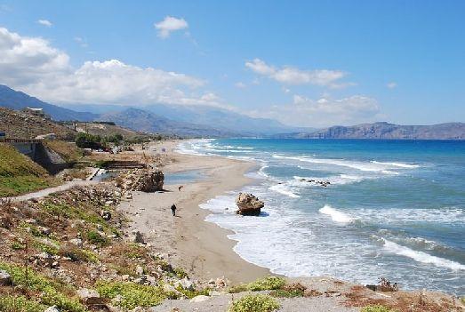 Пляжи Критского моря обладатели самого большого количества 'Голубых флагов'