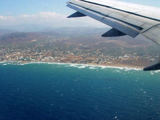 При заходе на посадку перед Вами откроется живописный вид на остров