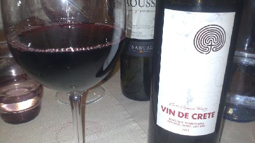 Красное критское вино признано во всем мире!